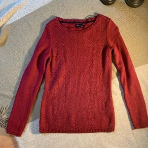 Tommy Hilfiger Red Sequin Sweater